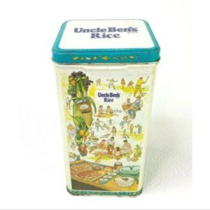 Vintage 1987 Uncle Ben's Rice Collectible Food Tin